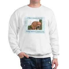 Sad Dog Chained Sweatshirt