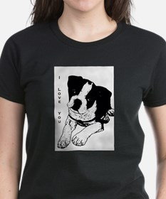 I Love You - Boston Terrier Tee