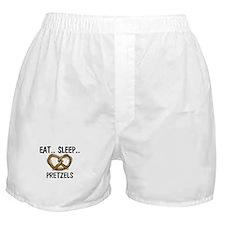 Eat ... Sleep ... PRETZELS Boxer Shorts