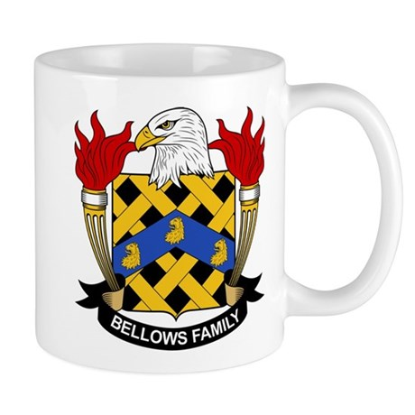 Bellows Family Crest Mug