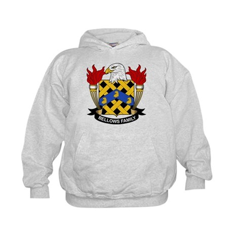 Bellows Family Crest Kids Hoodie
