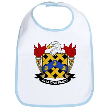 Bellows Family Crest Bib