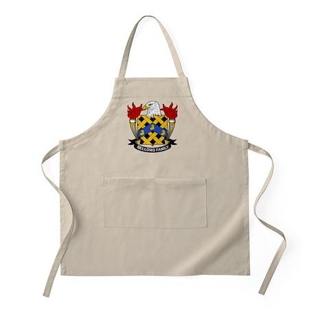 Bellows Family Crest BBQ Apron