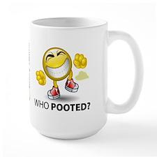 Who Pooted? Mug