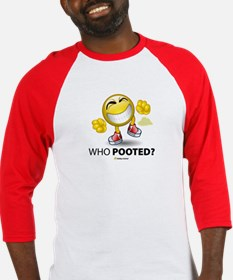 Who Pooted? Baseball Jersey
