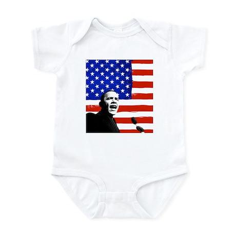 OBAMA Infant Bodysuit