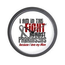 In The Fight 1 PD (Mom) Wall Clock