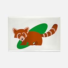 Unique Red panda Rectangle Magnet