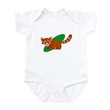 Funny Red panda Infant Bodysuit