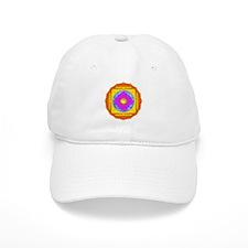 Om Lotus Yantra Baseball Cap