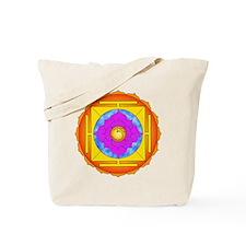 Om Lotus Yantra Tote Bag