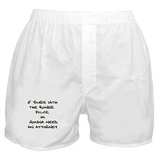 Boner Police Boxer Shorts