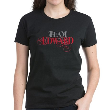 Team Edward Women's Dark T-Shirt
