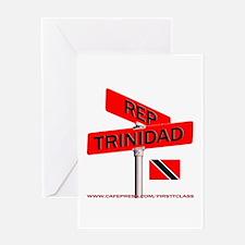 REP TRINIDAD Greeting Card