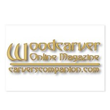 WOM Logoware Postcards (Package of 8)