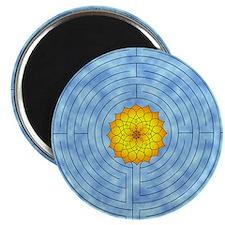 Labyrinth Lotus Magnet