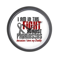 In The Fight 1 PD (Daddy) Wall Clock
