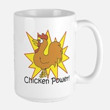 Chicken Power Large Mug