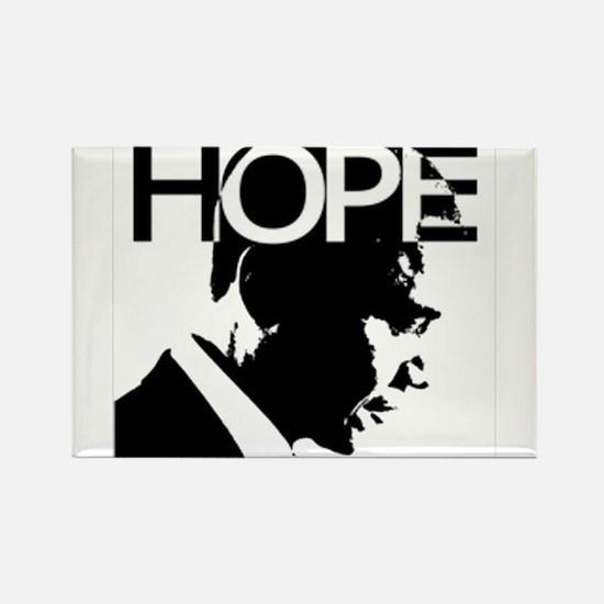 Obama hope Rectangle Magnet