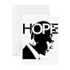 Obama hope Greeting Cards (Pk of 20)