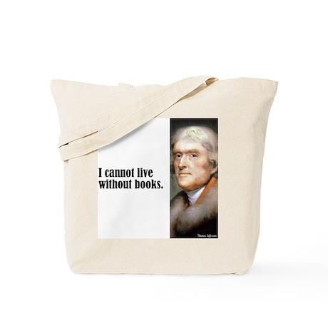 """Jefferson """"Books"""" Tote Bag"""