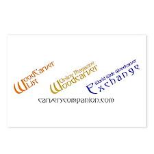 WOM, W3E, List Logos Postcards (Package of 8)