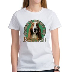 Home is where my Basset is Women's T-Shirt