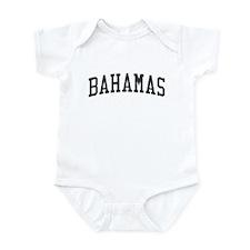 Bahamas Black Onesie