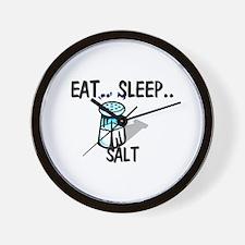 Eat ... Sleep ... SALT Wall Clock