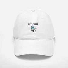 Eat ... Sleep ... SALT Baseball Baseball Cap