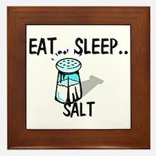 Eat ... Sleep ... SALT Framed Tile