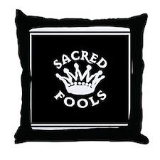 Sacred Fools Throw Pillow