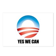 Yes We Can - Barack Obama Log Postcards (Package o
