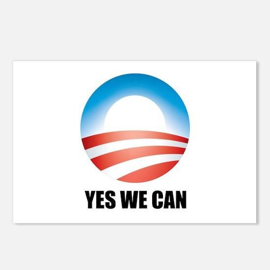 Yes We Can - Barack Obama Log Postcards (Package o