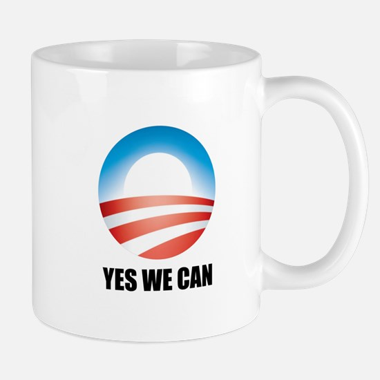 Yes We Can - Barack Obama Log Mug