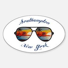 New York - Southampton Decal