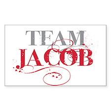 Team Jacob Rectangle Decal