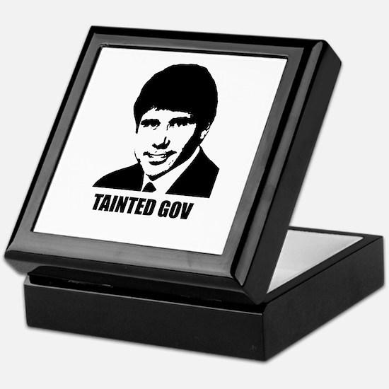 Rod Blagojevich - Tainted Gov Keepsake Box