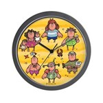 Life's a Beach Wall Clock