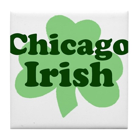 Chicago Irish Tile Coaster