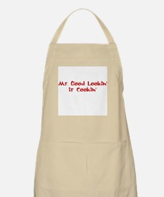 Ms. Good Lookin' is Cookin' BBQ Apron
