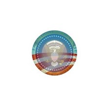 Obama Presidential Logo Mini Button