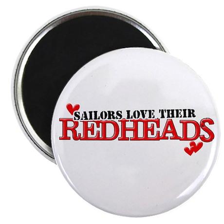Sailors love their redheads Magnet
