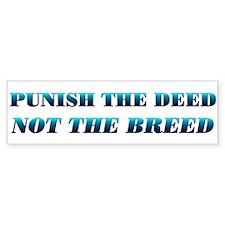 Teal Anti-BSL Bumper Bumper Sticker