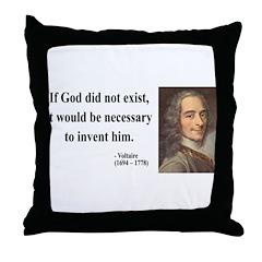 Voltaire 4 Throw Pillow