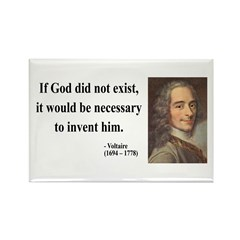 Voltaire 4 Rectangle Magnet
