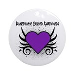 Pancreatic Cancer Awareness Ornament (Round)
