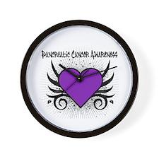 Pancreatic Cancer Awareness Wall Clock