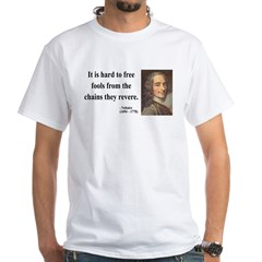 Voltaire 5 White T-Shirt