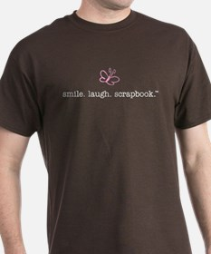 smile. laugh. scrapbook. - T-Shirt